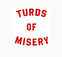 Turds of Misery Men's Baseball ¾ T-Shirt