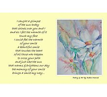 Poetry in Art - Smile Photographic Print