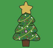 Cute xmas tree One Piece - Short Sleeve
