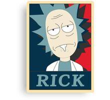 Rick and Morty OB Canvas Print