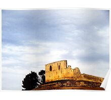 The Ruins in Gravina Poster