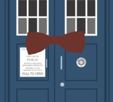Doctor Who cowboy stetson hat TARDIS eleventh doctor  Sticker