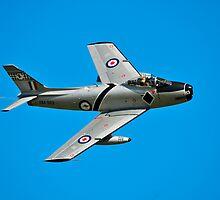 CAC CA-27 Sabre, A94-983, 76 Squadron, RAAF by Tim Pruyn