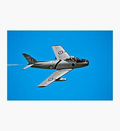 CAC CA-27 Sabre, A94-983, 76 Squadron, RAAF Photographic Print