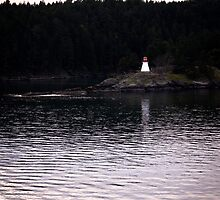 Light House on Active Passage by CormacEby