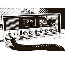 Classic Radio Photographic Print
