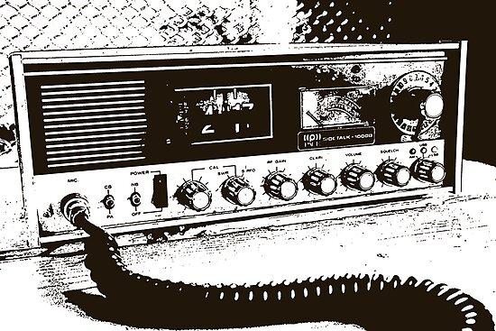 Classic Radio by sarahcronkphoto