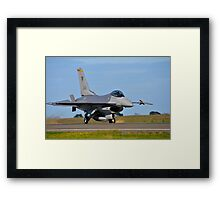 F-16C Falcon, 143 Squadron, Republic of Singapore Air Force Framed Print