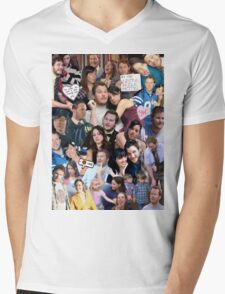 April and Andy - Parks and Recreation Mens V-Neck T-Shirt