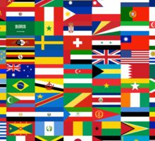Flags of the World Sticker