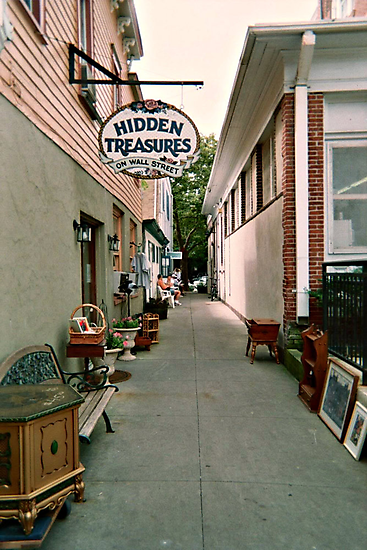 Hidden Treasures on Wall Street, Ocean Grove NJ by Jane Neill-Hancock