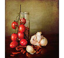 Mediterranean flavors Photographic Print
