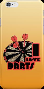 I Love Darts by noeljerke