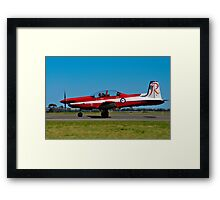 PC-9/A, A23-051, The Roulettes, RAAF East Sale Framed Print