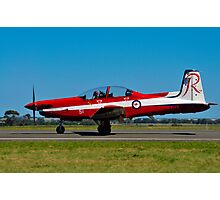 PC-9/A, A23-051, The Roulettes, RAAF East Sale Photographic Print