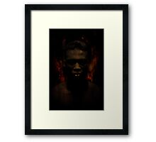 Hell is round the corner Framed Print