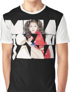 TWICE 'Minatozaki Sana' Typography Graphic T-Shirt
