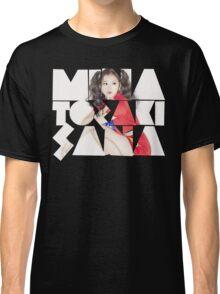 TWICE 'Minatozaki Sana' Typography Classic T-Shirt