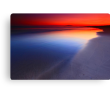 Seven Mile Beach Sunset Canvas Print