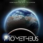 redone Prometheus film poster by VirtualArtist