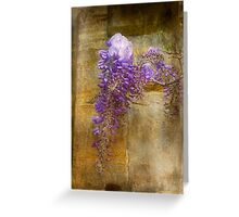 Romantic Wisteria Greeting Card