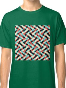 Crazy Retro ZigZag Classic T-Shirt