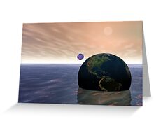 Drifting Away Greeting Card