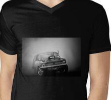 FRONT/BACK Motorfest Burnout Mens V-Neck T-Shirt