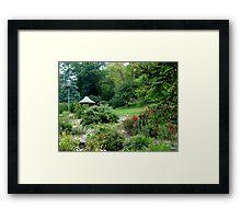 Rose Garden At Honor Heights Framed Print