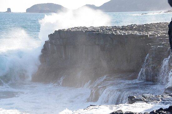 Bushrangers Bay, Cape Schanck, Victoria, III, 2012 by Kel Clarke