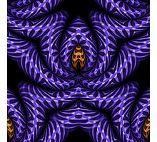 Purple Swagger Photographic Print