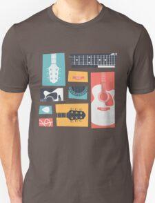 Guitar Collage T-Shirt