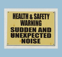 Health and Safety gone mad, Sudden noise by stuwdamdorp