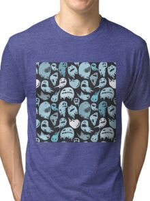 Ghosts party Tri-blend T-Shirt