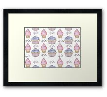 Cupcakes and Ice cream <3 Framed Print