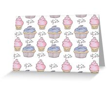 Cupcakes and Ice cream <3 Greeting Card