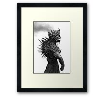The Cursed King Framed Print