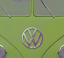 "VW Kombi ""Happy Birthday"" Card by Sandy1949"