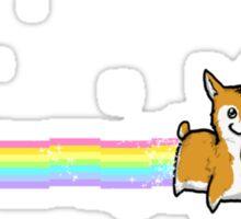 Nyan Space Unicorgi Sticker