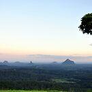 Glasshouse Mountains by STEPHANIE STENGEL | STELONATURE PHOTOGRAHY