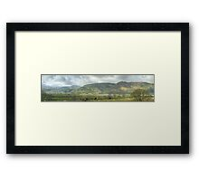 Views From Dodd Wood Framed Print