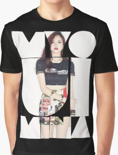 TWICE 'Myoui Mina' Typography Graphic T-Shirt