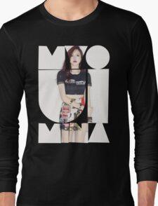 TWICE 'Myoui Mina' Typography Long Sleeve T-Shirt