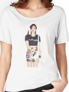 TWICE 'Myoui Mina' Typography Women's Relaxed Fit T-Shirt