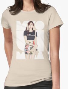 TWICE 'Myoui Mina' Typography Womens Fitted T-Shirt