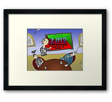 News Options Binaires BD Mauvaise 2012 pour SONY Framed Print