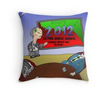 News Options Binaires BD Mauvaise 2012 pour SONY Throw Pillow
