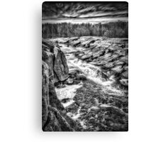 White Water Valley Canvas Print