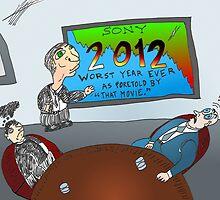 Binary Options News Cartoon SONY 2012 Boardroom by Binary-Options