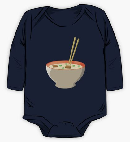 Chinese food One Piece - Long Sleeve